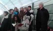 Concert at Prague British School (Credit: Rosemary Lawrence)