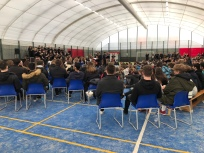 Concert at Prague British School (Credit: Louise Smith)