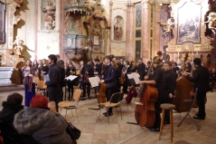 Concert at St John of Nepomuk Church, Kutná Hora (Credit: Tourist Office)
