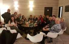 A group of Chorus in the hotel bar (Credit: Alex Kaye)