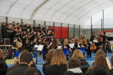 Concert at Prague British School (Credit: Colin Davis)