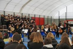 Concert at Prague British School (Credit: Colin Davis)