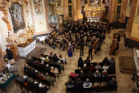 Concert at St John of Nepomuk Church, Kutná Hora (Credit: Colin Davis)