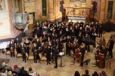 Concert at St John of Nepomuk Church, Kutná Hora (Credit: Colin Davis)