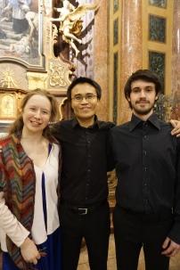 Concert at St John of Nepomuk Church, Kutná Hora. Conductor James Ham. Soloists Naomi Awre and Ed Daly (Credit: Colin Davis)