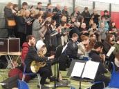 Concert at Prague British School (Credit: Peter Lamb)