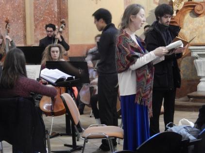 Concert at St John of Nepomuk Church, Kutná Hora (Credit: Peter Lamb)
