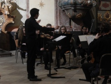 Concert at St John of Nepomuk Church, Kutná Hora (Credit: Peter Lamb)