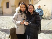 At the Town Hall and Silver Mint in Kutná Hora (Credit: Cynthia Barnes)